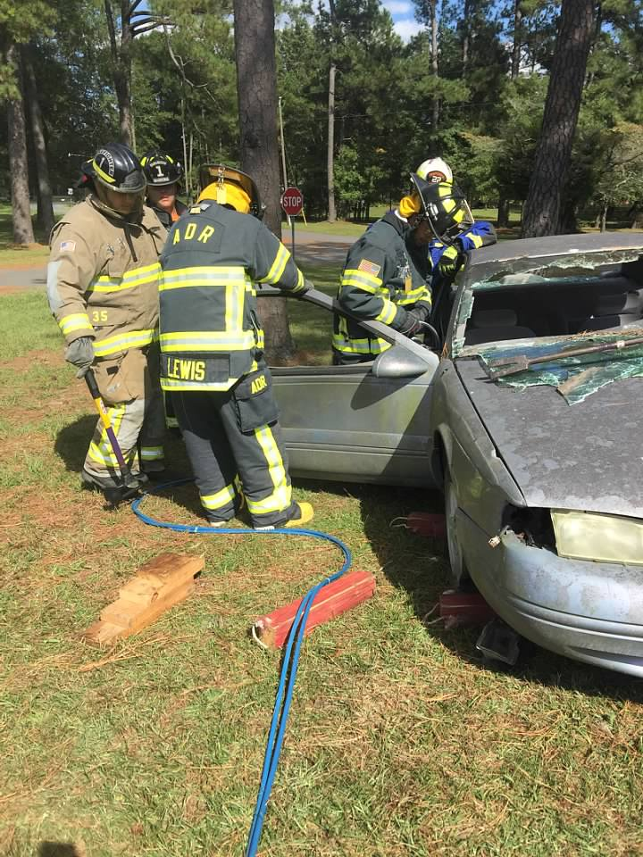 Extrication Training 09/30/2017